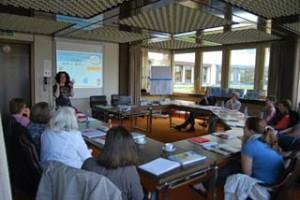 Gemeinsam informieren: Teilnehmer der Fachtagung während eines Workshops. Foto: Kreis Lippe
