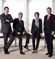 KATAG Vorstand (v.l.n.r.): Marcus Schönhart (stv. Vorsitzender), Holger Zdora, Angelika Schindler-Obenhaus, Dr. Daniel Terberger (Vorsitzender). Foto: KATAG AG
