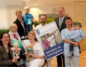 Familie gewinnt Klinikum