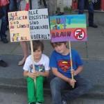 Demonstration am AJZ
