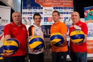 Vier EM-Nationaltrainer (09.09.13)