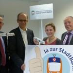 "Aktion ""Ja zur Stadtbahn"""