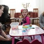 Spiel, Spaß und Anregungen- Marlene Sieber besucht Familie Egorow