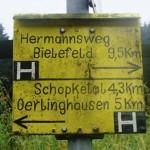 Hermannsweg – von Rheine zum Velmerstot