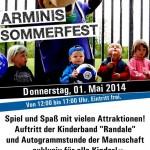 1. Mai – Sommerfest der Arminis