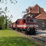 Ausflug mit historischer Eisenbahn