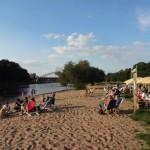 Urlaubsfeeling am Mindener Weserstrand