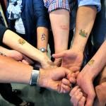 800 Jahre Bielefeld hautnah! – Tattoo-Karten zum Stadtjubiläum