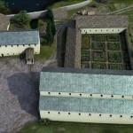 Film zeigt Rekonstruktion der Kaiserpfalzanlage um 799 n. Chr.