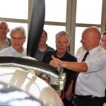 Luftfahrtkompetenz zu Besuch in Büren