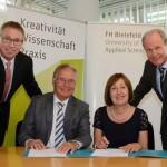 FH Bielefeld und IHK Ostwestfalen wollen Studierende bei Unternehmensgründungen unterstützen