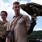 Neuer Auszubildender bei der Adlerwarte Berlebeck