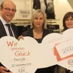 C&A spendet 2500 Euro an Karo-Cafe