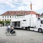 Bundestag auf Rädern – Infomobil des Deutschen Bundestages