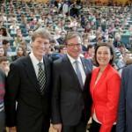 Erstsemesterbegrüßung mit 3.700 Studienanfänger im Audimax