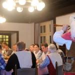 Im Restaurant Sparrenburg zurück ins Mittelalter