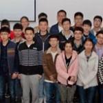 Chinesische Studierende an der FHM Bielefeld begrüßt