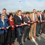 Haller Südumgehung und Gewerbegebiet Ravenna-Park eröffnet