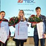 Erster Platz des ZiTex-Nachwuchspreises für Gerry-Weber-Talent