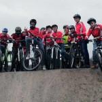Eröffnung des Bikeparks in Detmold
