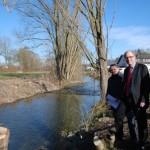 Altenau wird oberhalb von Kirchborchen renaturiert