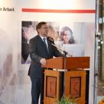 Schirmherr Reinhard Spieß eröffnet den Hochstift Berufemarkt