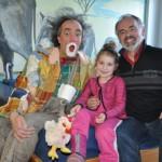 Clown Pepe Pepolino besucht kranke Kinder im St. Ansgar Krankenhaus