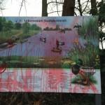 Vandalismus im Stadtpark