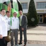 VfL Wolfsburg zu Gast im Gerry Weber Sportpark Hotel