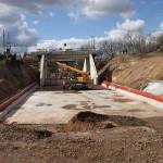 Eisenbahnbrücke in Minden erfolgreich ausgetauscht