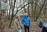 Landschaftswächter Hans Böhm und Fred Piechnik