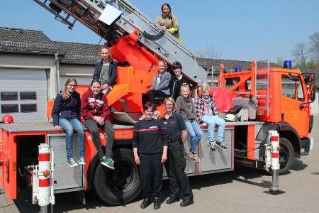 Girls' Day bei der Detmolder Feuerwehr