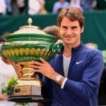 Roger Federer über Gerry Weber Open