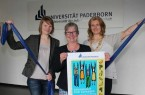 Uni Paderborn_Gesundheitstage 2015_Melissa Naase, Simone Probst, Diana R._