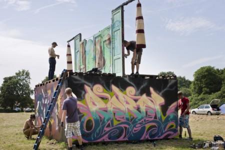 GraffitiTür