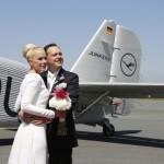 Airport Paderborn: Hochzeit in der JU52