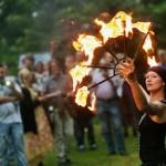 Feuer und Flamme fürs Sparrenburgfest