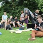 Junges Festival im Bürgerpark