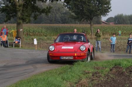 Porsche im Drift