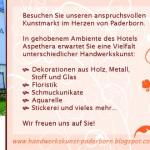 Kreativer Kunstmarkt am 24. und 25.10.2015 in Paderborn