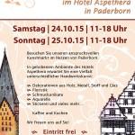 24. und 25.10.2015 — Kreativer Kunstmarkt in Paderborn