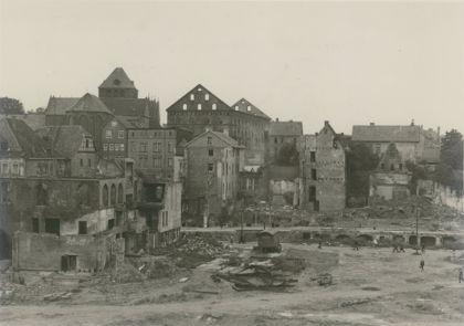 Mindener Museum Zerstörungen Scharn