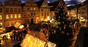 Bielefelder Weihnachtsmarkt auf dem Alten Markt