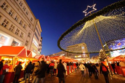 Bielefelder Weihnachtsmarkt auf dem Jahnplatz