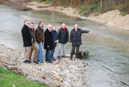 Beke im neuen Bett: Renaturierung im Bereich des Neubaugebietes Klusheide in Marienloh erfolgreich abgeschlossen