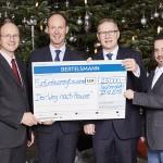 """Bertelsmann-Weihnachtsspende: 25.000 Euro für Bielefelder Initiative """"Der Weg nach Hause"""""""