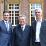 Integration als Wirtschaftsinteresse Präsident des VDMA Dr. Reinhold Festge beim Neujahrsfrühstück der Wirtschaftsinitiative