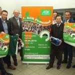 Heimische Unternehmen freuen sich auf den 1. AOK Firmenlauf