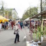 Frühjahrsmarkt in der Bad Oeynhauser Innenstadt