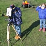 Sonnenbeobachtung am Planetenweg